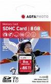 AgfaPhoto SDHC Karte 8GB High Speed Class 10 UHS I U1 V10