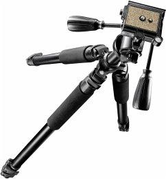 walimex pro FT-665T Kamerastativ 185cm + Pro-3D Neiger