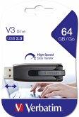 Verbatim Store n Go V3 64GB USB Stick 3.0 grey