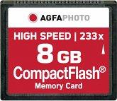 AgfaPhoto Compact Flash 8GB High Speed 233x MLC