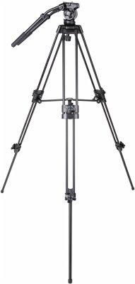 walimex pro EI-717 Kamerastativ Video-Pro-Stativ, 133cm