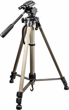 walimex wT-3530 Kamerastativ Basic-Stativ mit 3D-Neiger, 146cm