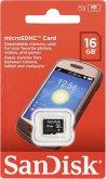 SanDisk MicroSDHC Card Only 16GB SDSDQM-016G-B35