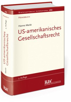 US-amerikanisches Gesellschaftsrecht - Merkt, Hanno