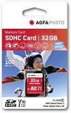 AgfaPhoto SDHC Karte 32GB High Speed Class 10 UHS I
