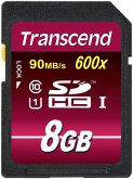 Transcend SDHC 8GB Class 10 UHS-I 600x Ultimate