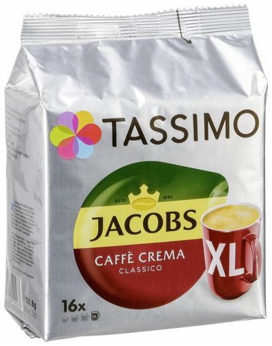 tassimo jacobs caffe crema xl t disc portofrei bei b kaufen. Black Bedroom Furniture Sets. Home Design Ideas