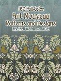 150 Full-Color Art Nouveau Patterns and Designs (eBook, ePUB)