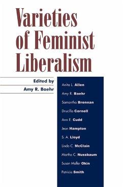Varieties of Feminist Liberalism (eBook, ePUB)