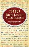 500 Best-Loved Song Lyrics (eBook, ePUB)