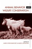 Animal Behavior and Wildlife Conservation (eBook, ePUB)