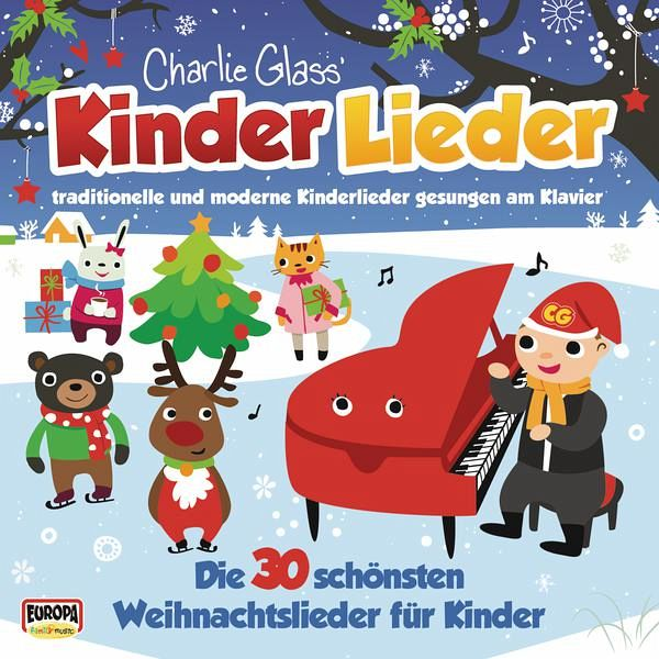 kinder weihnacht die 30 sch nsten weihnachtslieder f r kinder 1 audio cd von charlie glass. Black Bedroom Furniture Sets. Home Design Ideas