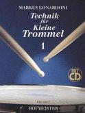 Technik für Kleine Trommel, m. Audio-CD