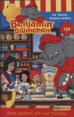 Benjamin Blümchen im Tante Emma-Laden, 1 Cassette