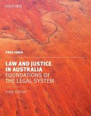 Law and Justice in Australia: Foundations of the Legal System
