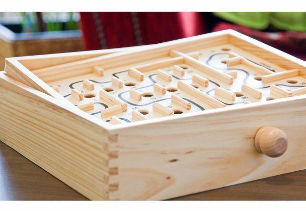 labyrinth spiel holz g nstig kaufen. Black Bedroom Furniture Sets. Home Design Ideas