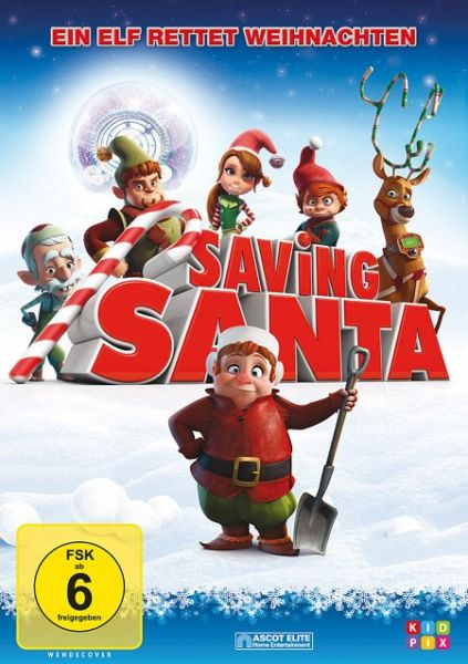 saving santa ein elf rettet weihnachten film auf dvd. Black Bedroom Furniture Sets. Home Design Ideas