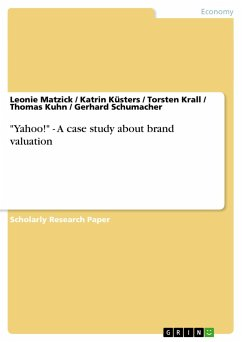 """Yahoo!"" - A case study about brand valuation"