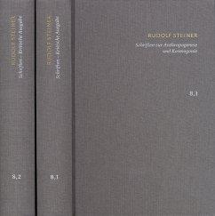 Schriften zur Anthropogenese und Kosmogenese, 2 Bde. - Steiner, Rudolf