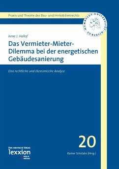 Das Vermieter-Mieter-Dilemma bei der energetischen Gebäudesanierung (eBook, PDF) - Hallof, Irene J.
