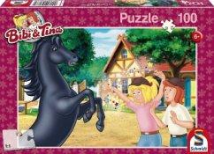 Bibi und Tina (Kinderpuzzle), Der wilde Hengst