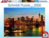 Schmidt 58189 - New York, Puzzle 2000 Teile