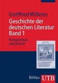 Geschichte der deutschen Literatur. Band 1 (eBook, ePUB)