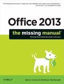 Office 2013: The Missing Manual (eBook, ePUB)