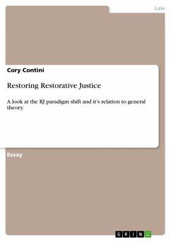 Restoring Restorative Justice (eBook, PDF)