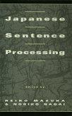 Japanese Sentence Processing (eBook, PDF)