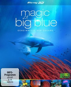 Magic of Big Blue - Geheimnisse der Ozeane (Blu-ray 3D, 3 Discs)
