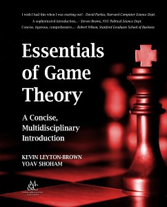 Essentials of Game Theory (eBook, ePUB)