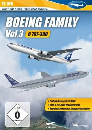 Flight Simulator X - Boeing Family Vol  3 (767)
