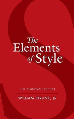 The Elements of Style (eBook, ePUB) - Strunk, William