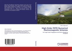 High-Order FDTD Numerical Electromagnetic Schemes