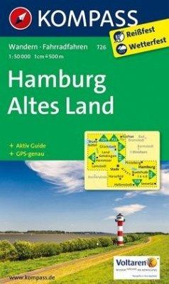 Kompass Karte Hamburg, Altes Land