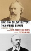 Hans von Bülow's Letters to Johannes Brahms (eBook, ePUB)