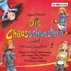 Die Chaosschwestern sind unschlagbar! / Die Chaosschwestern Bd.2 (MP3-Download) - Mueller, Dagmar H.