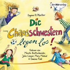 Die Chaosschwestern legen los! / Die Chaosschwestern Bd.1 (MP3-Download) - Mueller, Dagmar H.