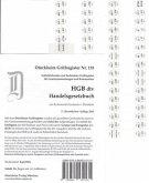 HGB im dtv Griffregister Nr. 135 (Nachdruck 2016): 64 selbstklebende und bedruckte Griffregister