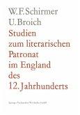 Studien zum literarischen Patronat im England des 12. Jahrhunderts