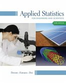 Applied Statistics for Engineers and Scientists