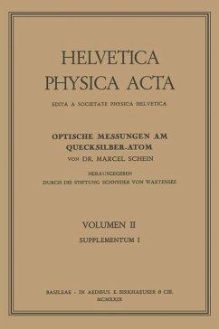 Optische Messungen am Quecksilber-Atom - SCHEIN