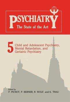 Child and Adolescent Psychiatry, Mental Retardation, and Geriatric Psychiatry