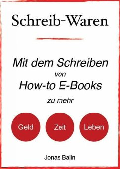 Schreib-Waren (eBook, ePUB) - Balin, Jonas