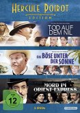 Hercule Poirot Edition (Das Böse unter der Sonne Mord im Orient Express Tod auf dem Nil) DVD-Box