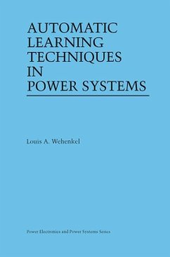 Automatic Learning Techniques in Power Systems - Wehenkel, Louis A.