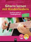 Gitarre lernen mit Kinderliedern, m. Audio-CD