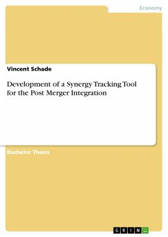 Development of a Synergy Tracking Tool for the Post Merger Integration (eBook, PDF)