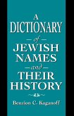 A Dictionary of Jewish Names and Their History (eBook, ePUB)